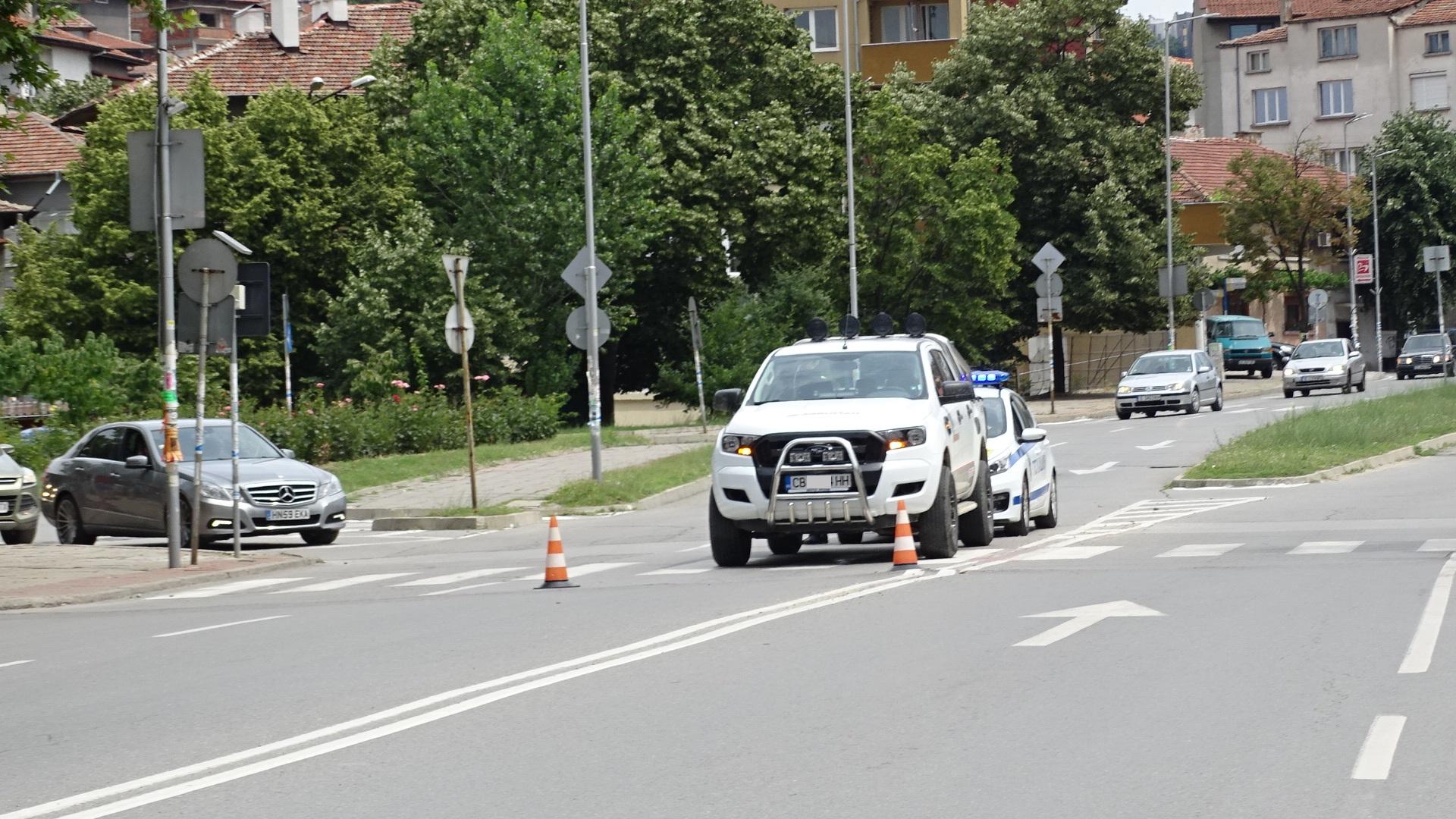 Блъснаха дете на пешеходна пътека в Благоевград, в болница е
