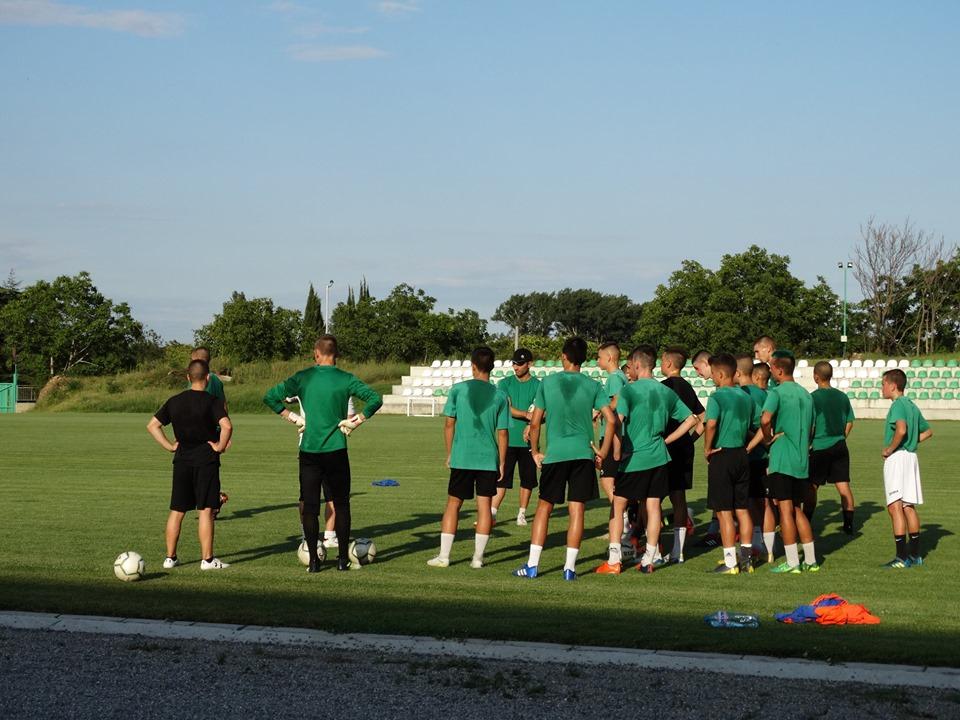 Берое U17 загуби от Левски в контрола