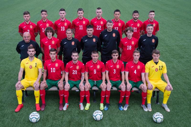 Групата на България U18 за мачовете с Кипър