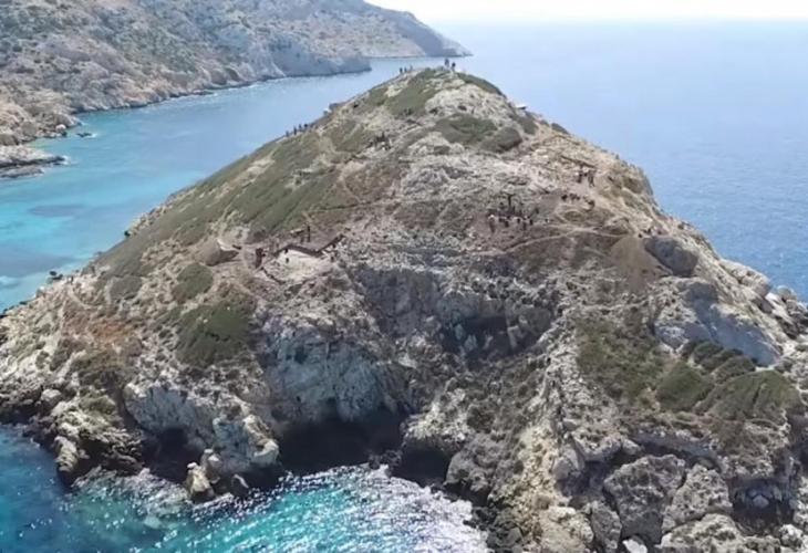 На гръцки остров откриха огромна пирамида на възраст 4500 години