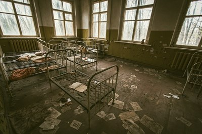Родената в изоставения Чернобил Марийка -