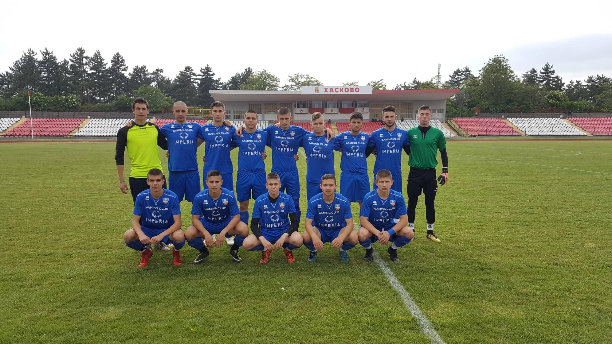 Спартак стана шампион при старшата след протоколен мач срещу Хасково