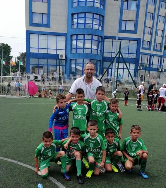 Хебърчетата останаха шести на международен турнир в град Несебър