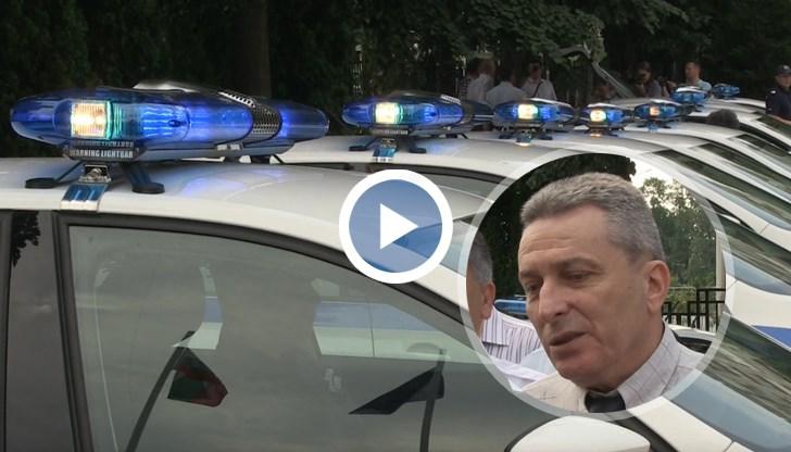 Комисар Енчев: От години полицаите ползват автомобили, които са навъртели по 1 млн. км.