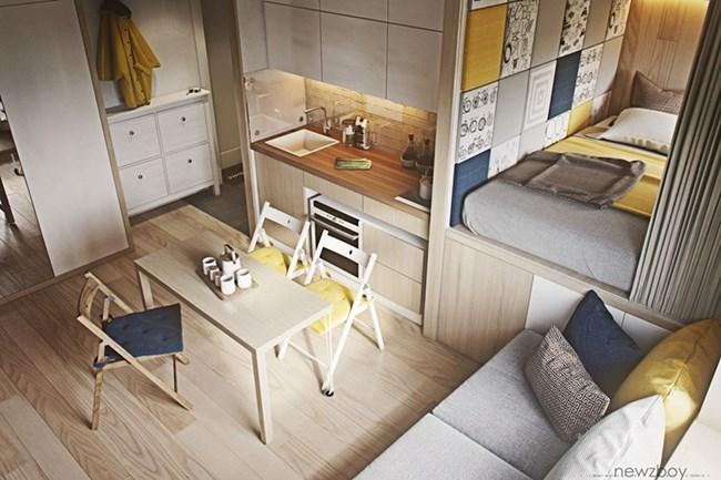 Уютно и компактно малко жилище (галерия)