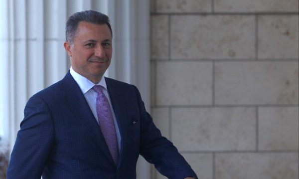 През Сърбия или Албания е избягал Никола Груевски?