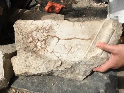 Надпис с важна информация от времето на император Траян излезе в базиликата на Пловдив
