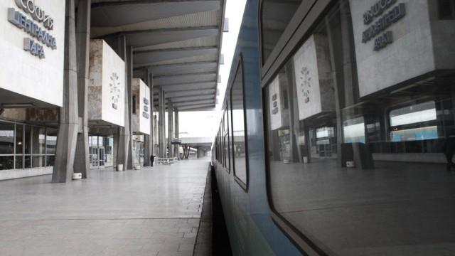 Полицейска проверка на Централна гара в София заради сигнал за бомба