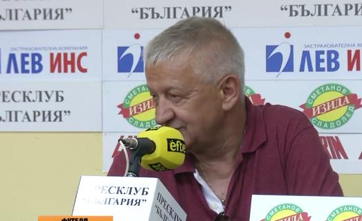 Крушарски за стадион Пловдив: Ботев тръгнаха да дърпат да правят техния стадион!