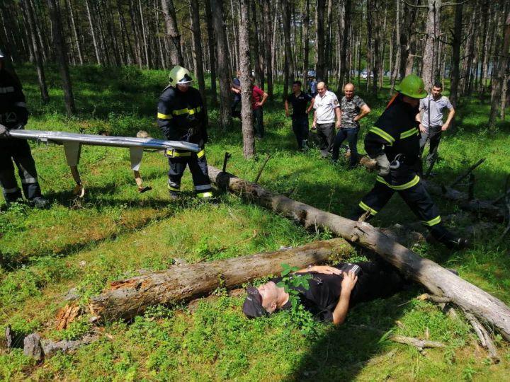 Проведоха учение на пожарникарите в Лозница