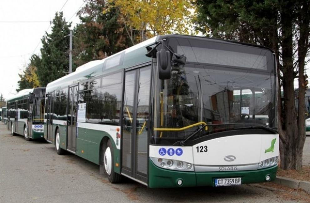 Променят разписанието на градските автобусни и тролейбусни линии