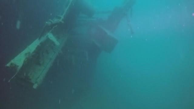 Oткриха потънал кораб от Втората световна война
